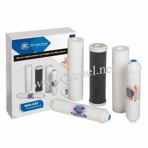Комплект пред и линейни филтри за система за обратна осмоза-RO6-CRT