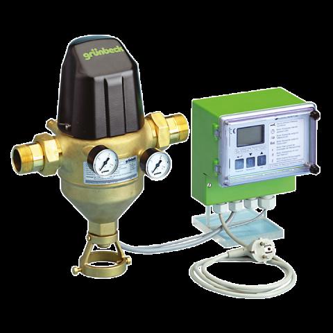 """Механичен самопочистващ се филтър с управление по диференциално налягане GENO- MXA 2"""""""