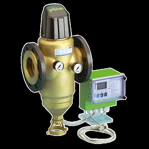 Механичен самопочистващ се филтър с управление по диференциално налягане - MXA -Dn100