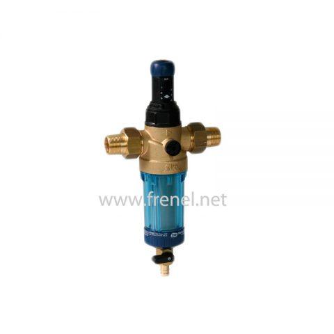 Бързопочистващ механичен филтър с редуцир вентил DFR-3/4