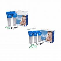 Каскадни филтриращи системи за вода.