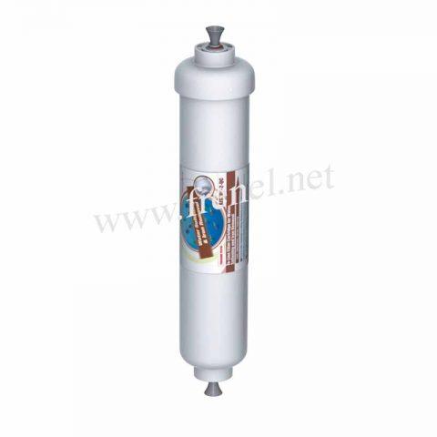 Линеен филтър за отнемане на желязо и омекотител AISTRO2-QC
