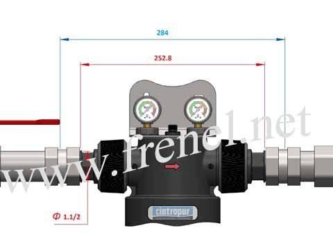 Механичен бързо почистващ филтър Cintropur NW 400
