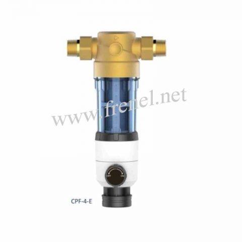 Механичен бързо почистващ се филтър-CP-4-E