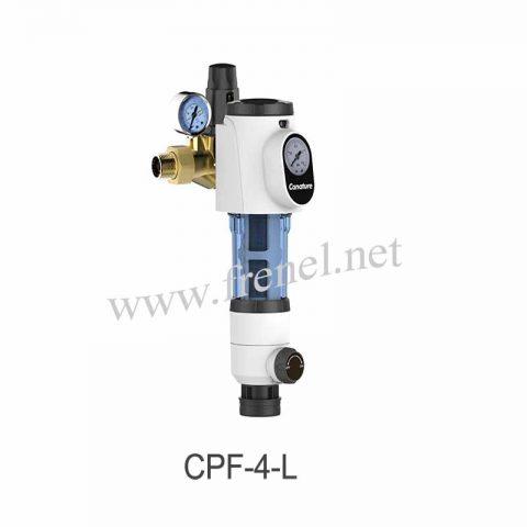 Механичен бързо почистващ се филтър с редуцир вентил-CPF-4-L