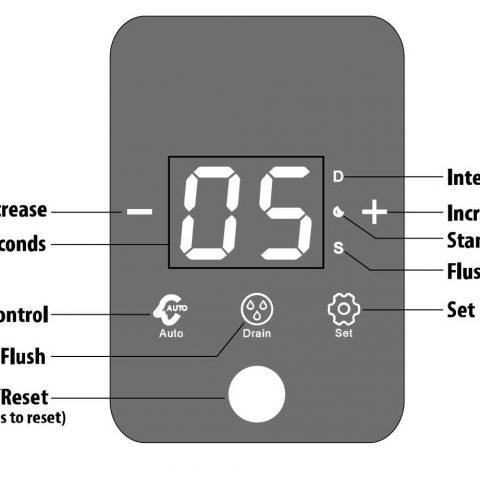 .Механичен самопочистващ се филтър с управление по време CP-8-E-Т