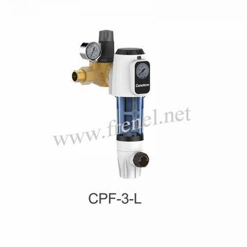 Механичен бързо почистващ се филтър с редуцир вентил-CPF-3-L