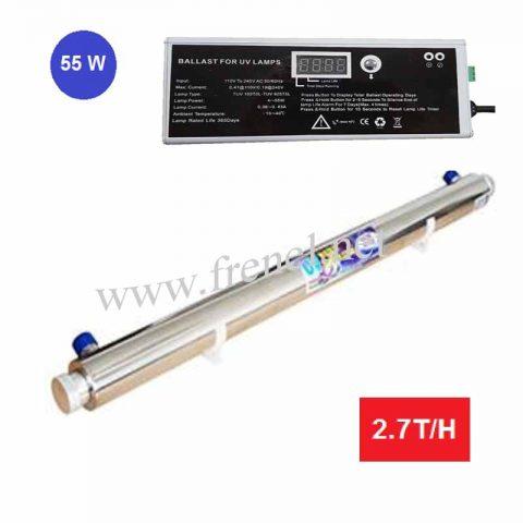 UV стерилизатор UV-55-W -с контролер